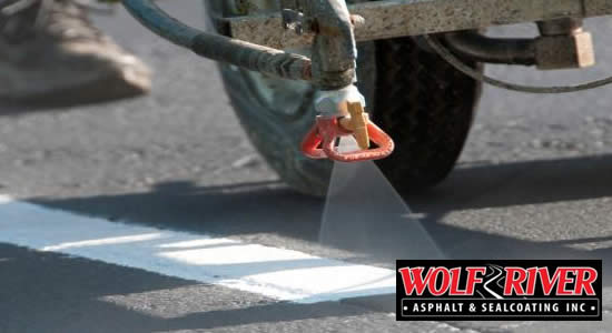Iola Asphalt/Concrete Pavement Line Striping Services