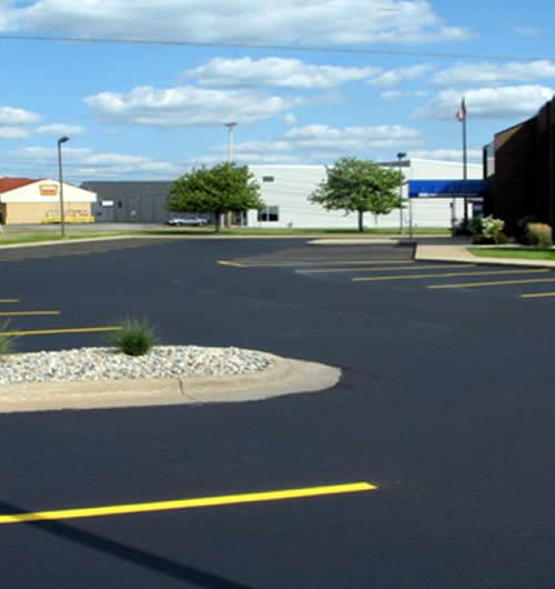 Parking Lot Striping Services Fox Valley